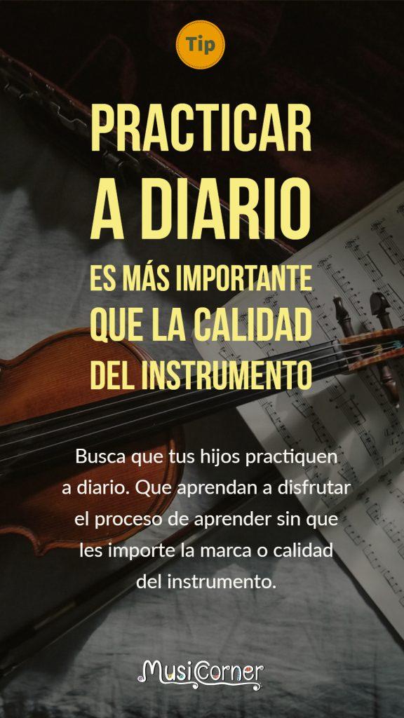 ¿Comprar o no comprar un instrumento caro para las clases de música de mis hijos?